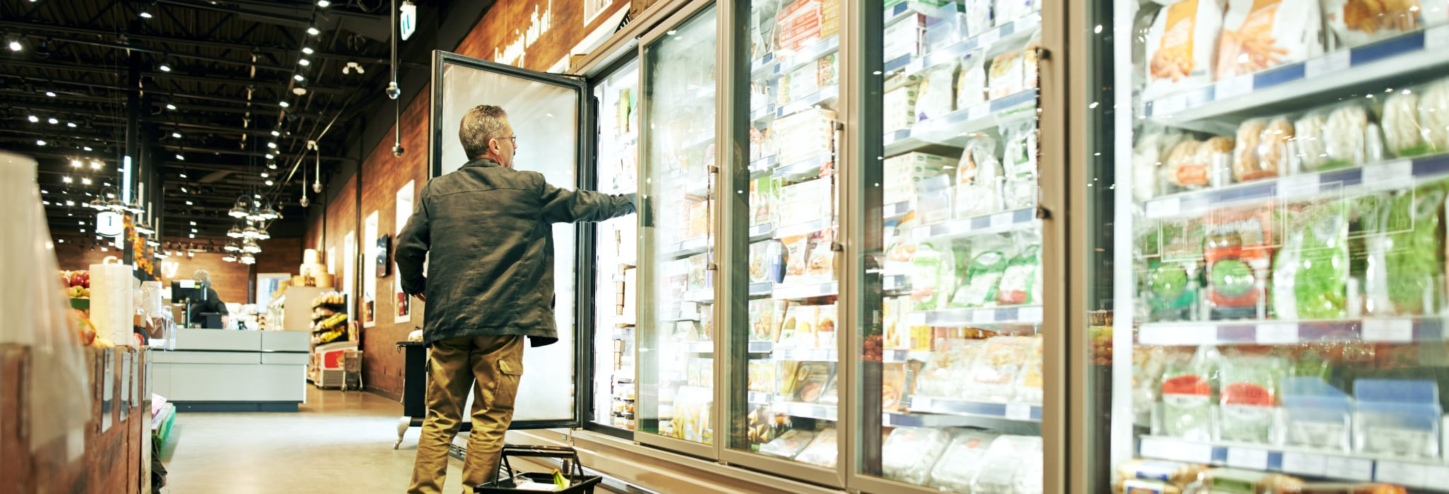 Commercial refrigeration service.