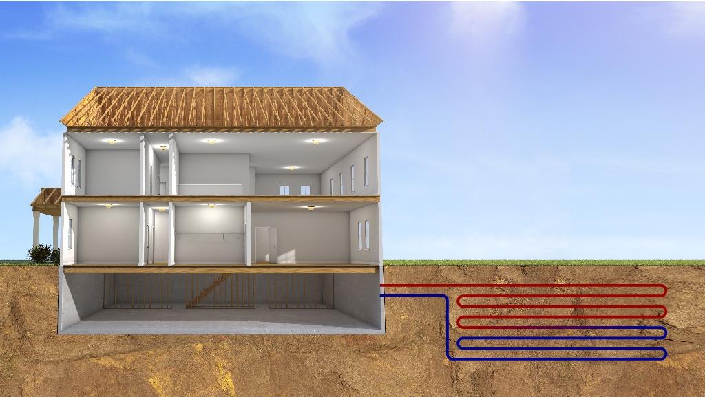 Geothermal service.